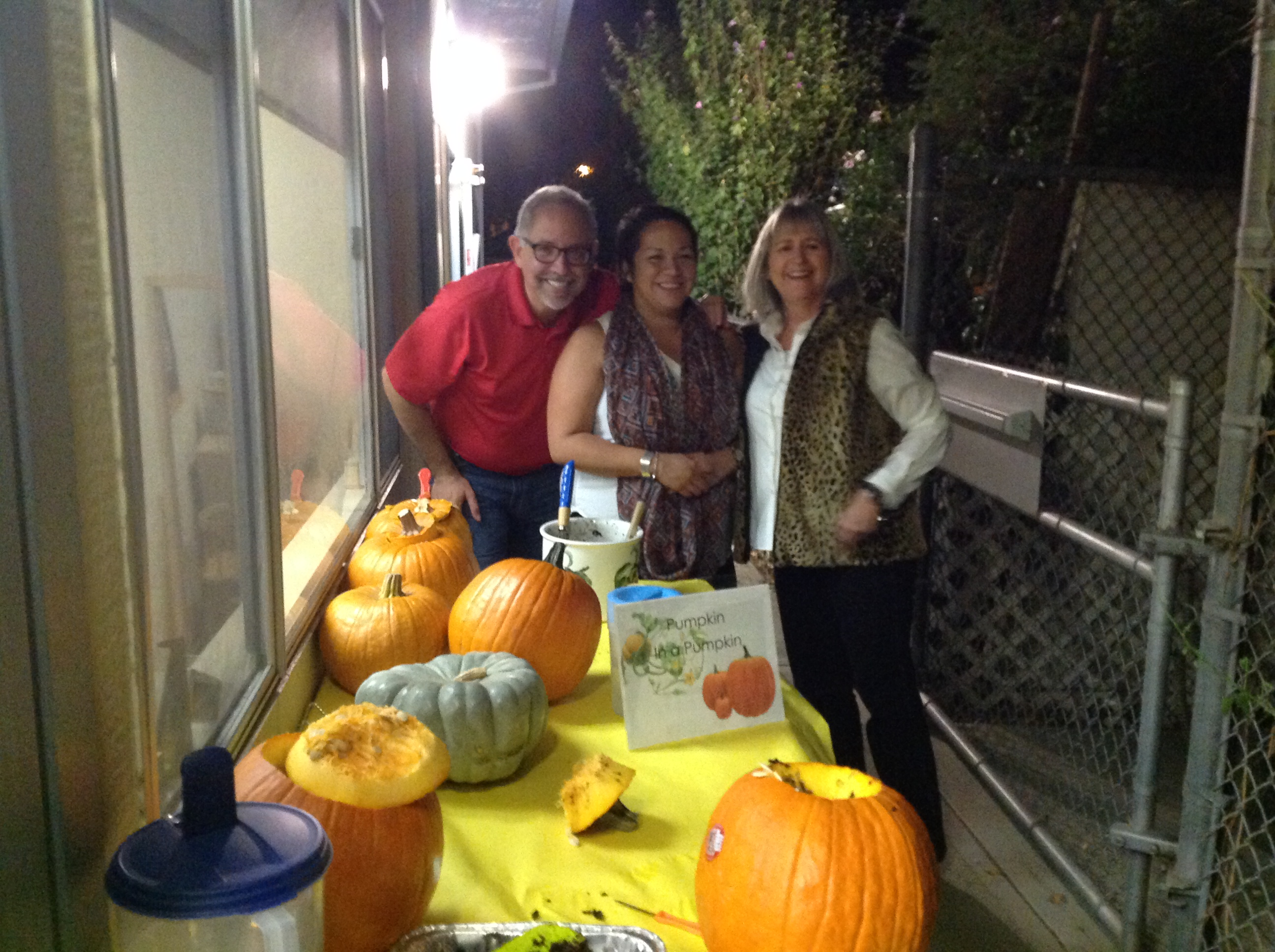 Back to School Night Fall 2014  Parent Gardening Experience